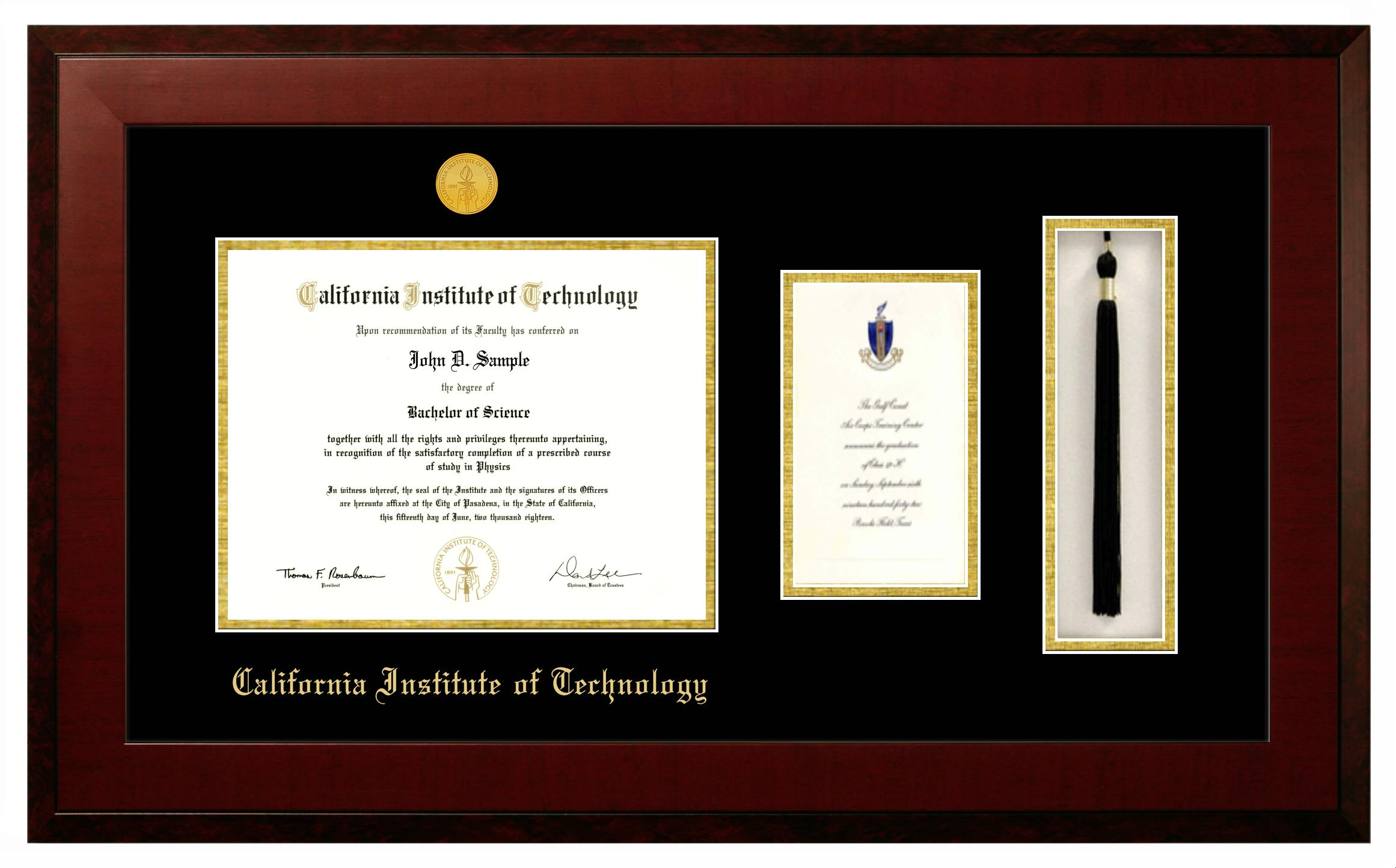 Custom Diploma Frames | Caltech Bookstore | University Frames